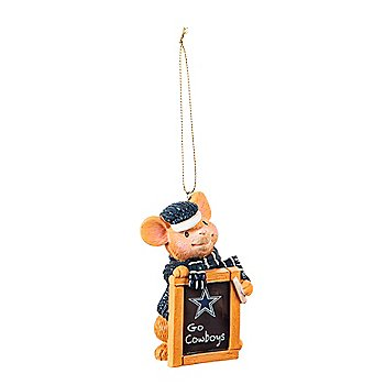 Dallas Cowboys Holiday Mouse Ornament