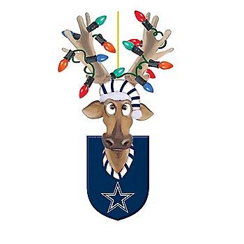 Dallas Cowboys Resin Reindeer Ornament