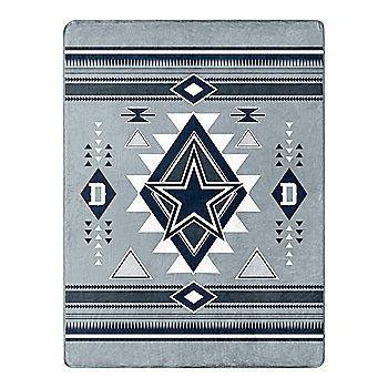 Dallas Cowboys Gray Southwest Silk Touch Throw Blanket