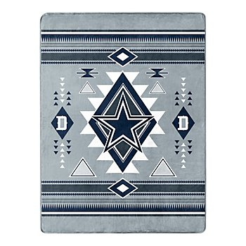 Dallas Cowboys Gray Southwest Silk Touch Throw Blanket