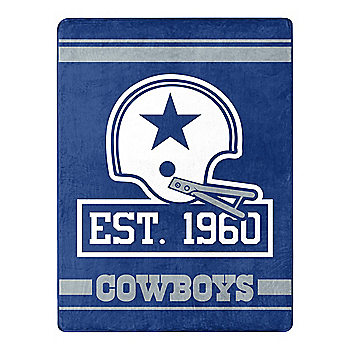 Dallas Cowboys 1960 Throw Blanket