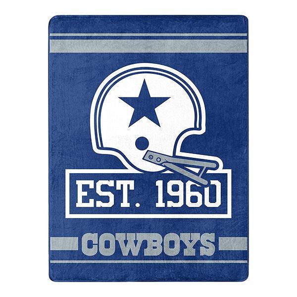 Dallas Cowboys 1960 Throw Blanket
