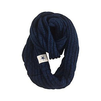 Dallas Cowboys Womens Cable Knit Infinity Scarf