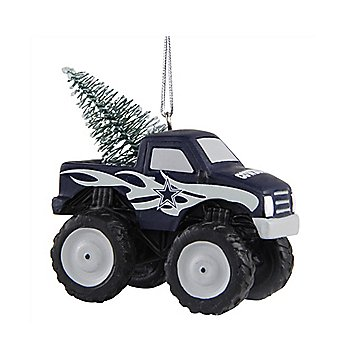 Dallas Cowboys Monster Truck Ornament