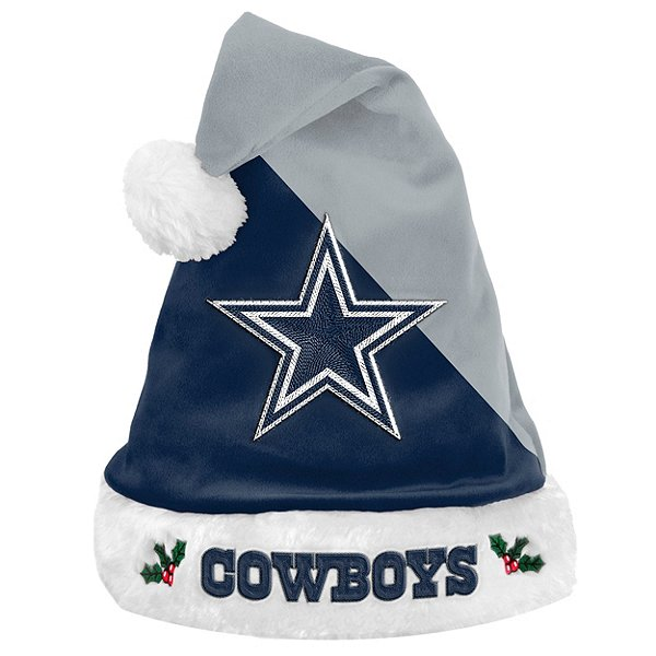 Dallas Cowboys Basic Santa Hat