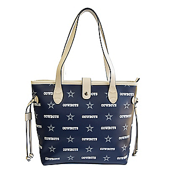 Dallas Cowboys Patterned Tote