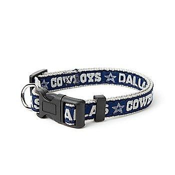 Dallas Cowboys Pet Football Collar