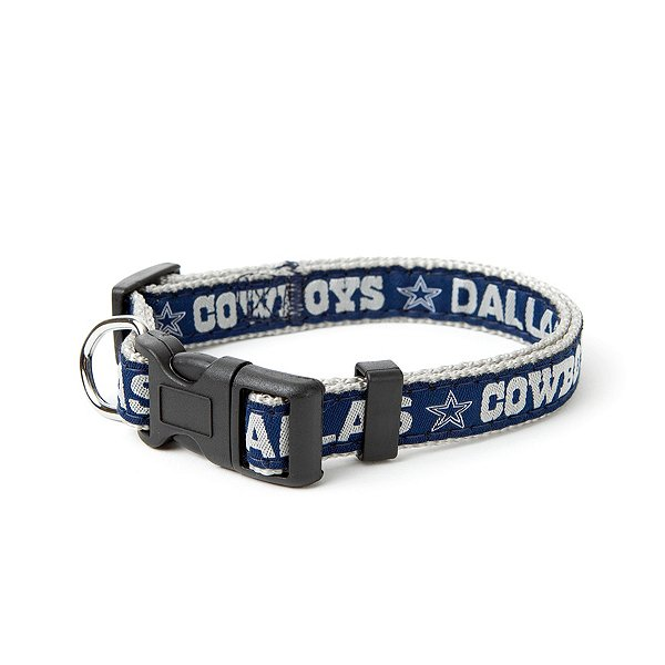 Dallas Cowboys Pet Football Collar