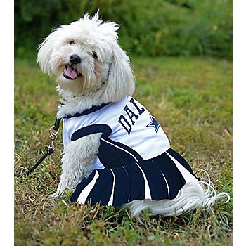 Dallas Cowboys Pet Cheerleader Outfit
