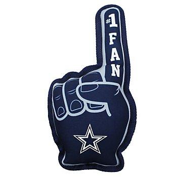 Dallas Cowboys #1 Fan Squeaker Pet Toy