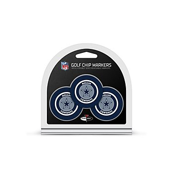 Dallas Cowboys 3-Pack Golf Chip Markers