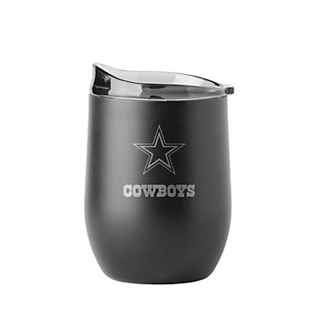 Dallas Cowboys 16 oz. Powder Coat Wine Tumbler