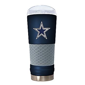 Dallas Cowboys The Draft 24 oz Navy Powder Coat Tumbler