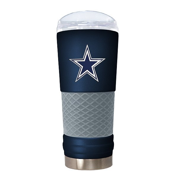 Dallas Cowboys The Draft 24 oz Navy Powder Coat Tumbler DO NOT USE