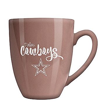 Dallas Cowboys 15 oz Rose Gold Ceramic Bistro Mug