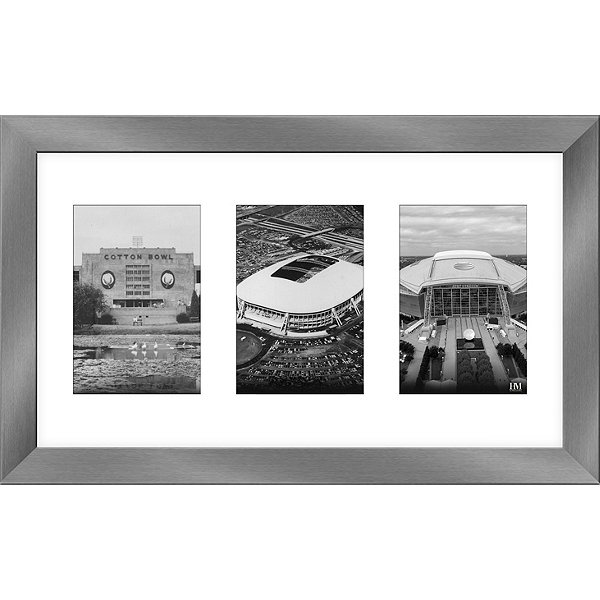 Dallas Cowboys 12x20 Panoramic Art Deco Framed Photo