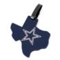 Dallas Cowboys State Of Texas Luggage Tag