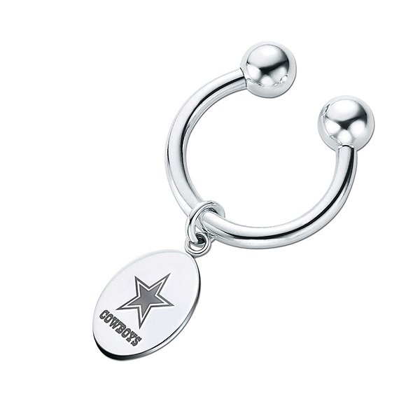 Dallas Cowboys Horseshoe Keyring