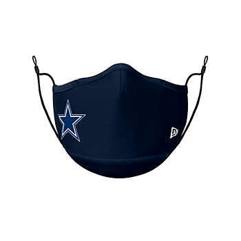Dallas Cowboys New Era Adult Navy On-Field Sideline Face Covering
