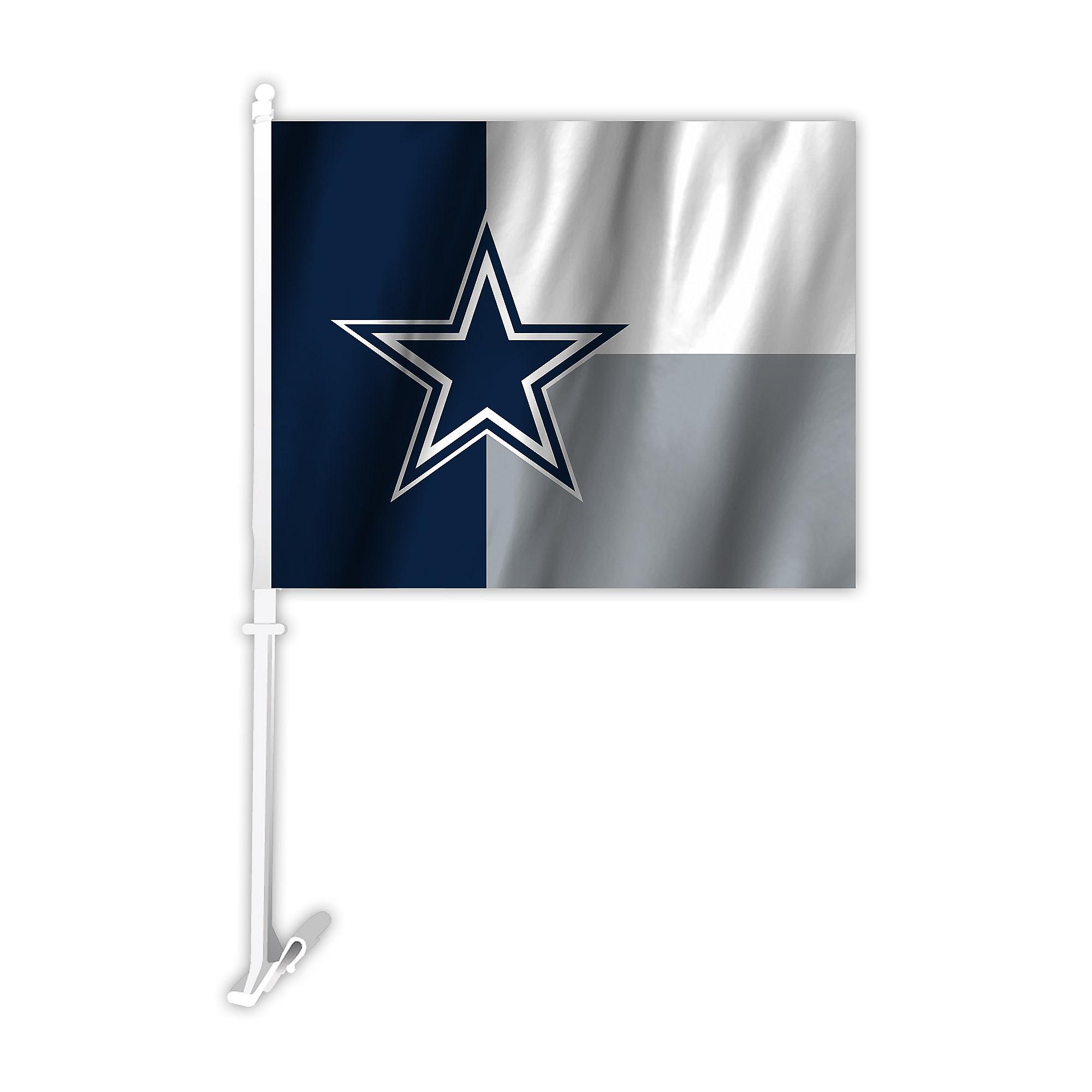 Dallas Cowboys Star Logo Car Flag