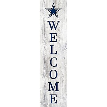 Dallas Cowboys Welcome Leaner Sign