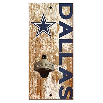 Dallas Cowboys Bottle Opener Sign
