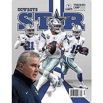 Dallas Cowboys Star Magazine Training Camp Preview 2020