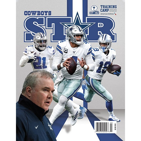 Dallas Cowboys Star Magazine Training Camp Preview 2020