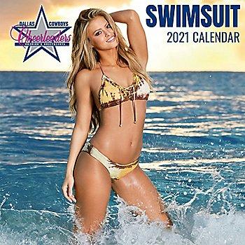 2021 15x15 Dallas Cowboys Cheerleaders Wall Calendar