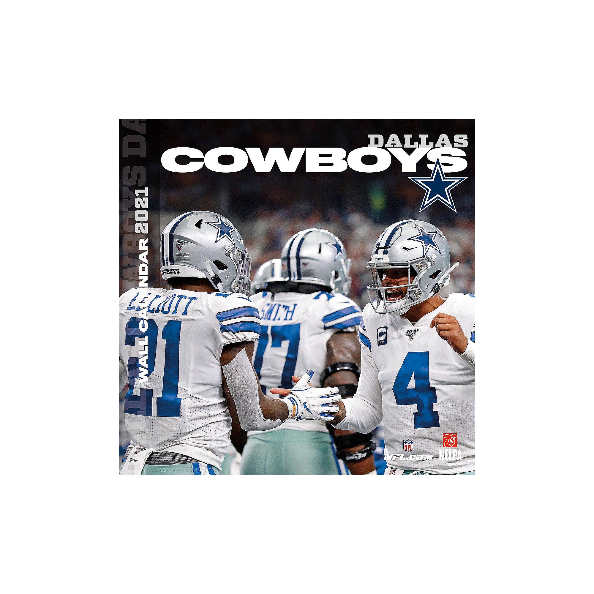 2021 12x12 Dallas Cowboys Team Wall Calendar