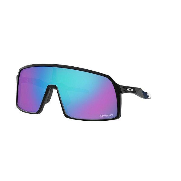 Dallas Cowboys Oakley Mens Sutro Prizm Sapphire Sunglasses