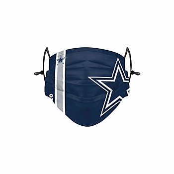 Dallas Cowboys Adult On-Field Sideline Logo Adjustable Face Covering