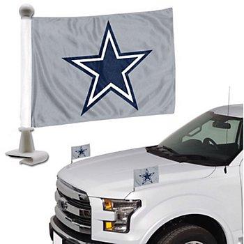 Dallas Cowboys Ambassador Car Flag Set of 2