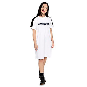 Dallas Cowboys DKNY Sport Robyn Sneaker T-Shirt Dress