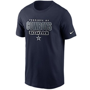 Dallas Cowboys Nike Mens Property Of Essential T-Shirt