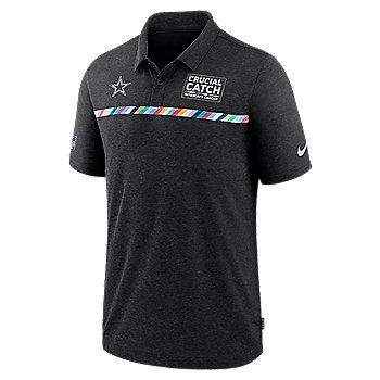 Dallas Cowboys Nike Crucial Catch Mens Early Season Polo