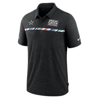 Dallas Cowboys Nike Crucial Catch Mens Early Season Polo