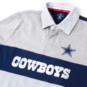 Dallas Cowboys Tommy Hilfiger Mens Color Block Rugby Shirt