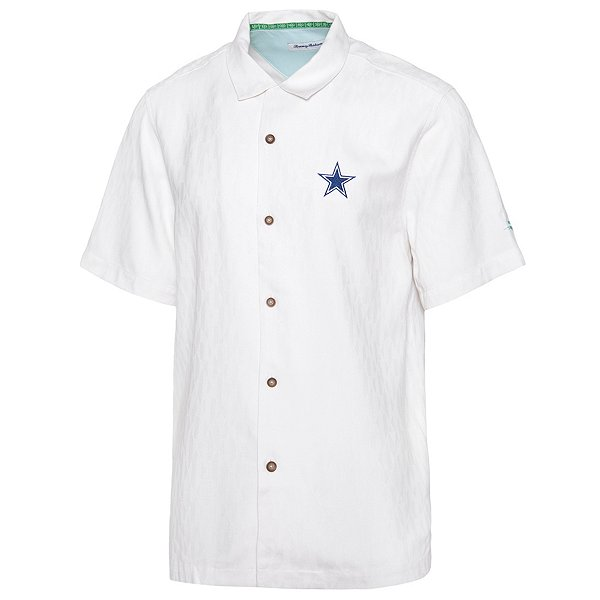 Dallas Cowboys Tommy Bahama Mens Tropical Tailgate Button Down T-Shirt