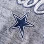 Dallas Cowboys Womens Lilly Metallic Scoop Neck Shirt