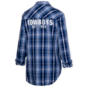 Dallas Cowboys WEAR By Erin Andrews Womens Established Flannel Shirt