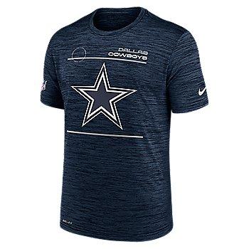 Dallas Cowboys Nike Mens Sideline Velocity Dri-FIT Short Sleeve Tee