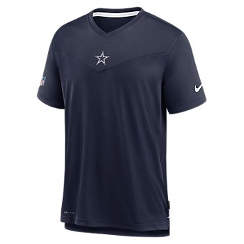 Dallas Cowboys Nike Mens Sideline Top Coach UV Short Sleeve Tee