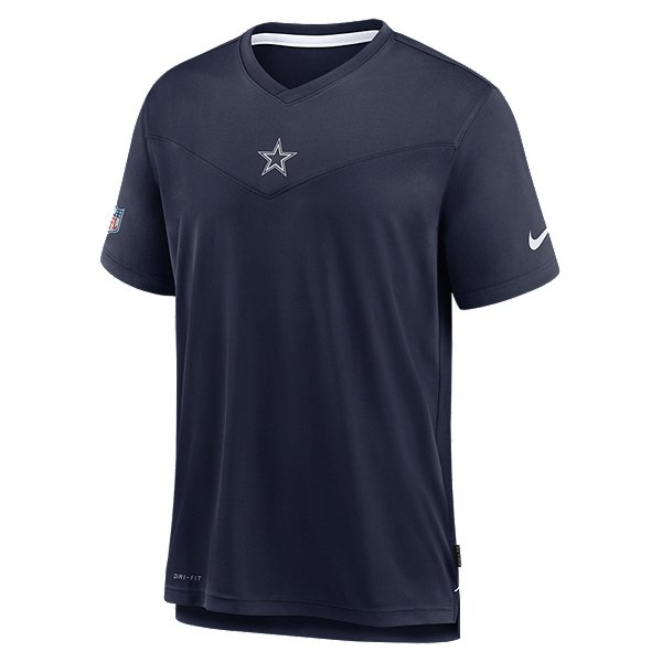 Dallas Cowboys Nike Mens Sideline Top Coach UV Short Sleeve Tee