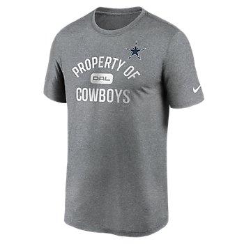 Dallas Cowboys Nike Mens Property of Dri-FIT Short Sleeve Tee
