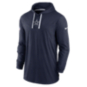 Dallas Cowboys Nike Mens Sideline Hoodie Long Sleeve Top