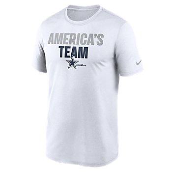 Dallas Cowboys Nike Mens America's Team Split Legend Tee