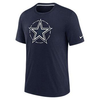 Dallas Cowboys Nike Mens Historic Circle Triblend Tee