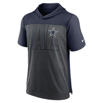 Dallas Cowboys Nike Mens Short Sleeve Hooded Tee