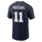 Dallas Cowboys Nike Mens Micah Parsons #11 Name and Number Tee